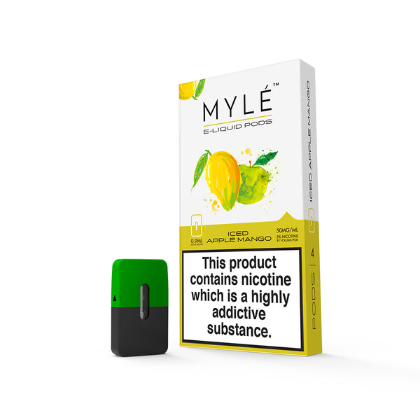 Iced Apple Mango MYLÉ™ Pods – 4 unds