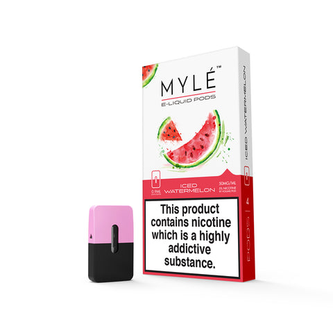 Iced Watermelon MYLÉ™ Pods – 4 unds