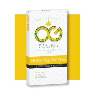 Pineapple Express OG™ CBD Pods – 4 unds