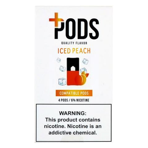 Iced Peach PLUS PODS™ Pods – 4 unds