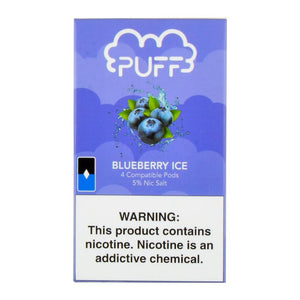 Blueberry Ice PUFF PODS™ Pods – 4 unds