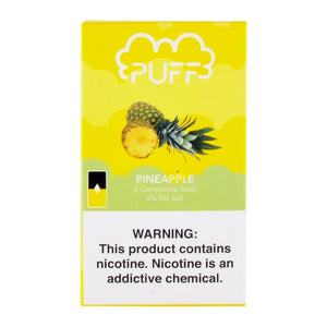 Pineapple PUFF PODS™ Pods – 4 unds
