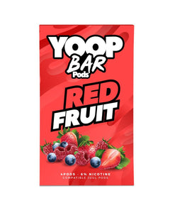 Red Fruit YOOP BAR PODS™ Pods – 4 unds