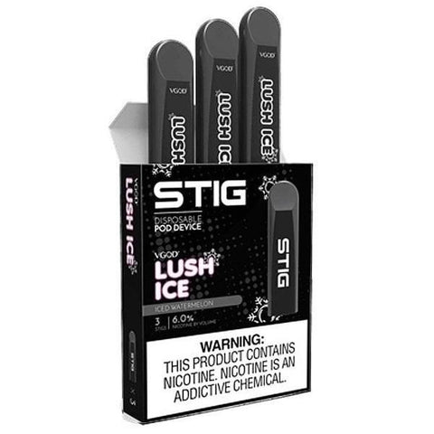 STIG Disposable E-cig - Lush Ice™ - 3 unds