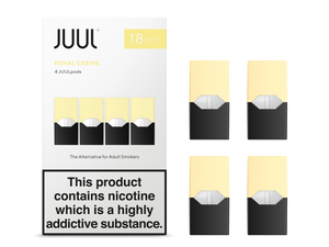 Royal Creme 1.8% UK Juul Pods - 4unds