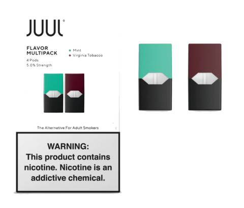 Virginia + Mint Juul Pods 5% – 2 unds
