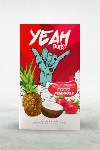 Strawberry Coco Pineapple YEAH PODS™ Pods – 4 unds