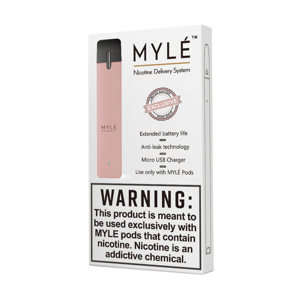 Mylé Device Rose Gold - Limited Edition