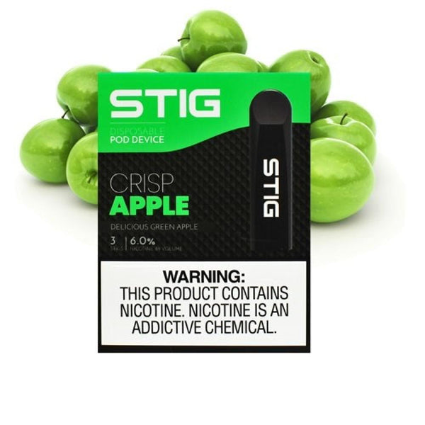 STIG Disposable E-cig - Crisp Apple™ - 3 unds