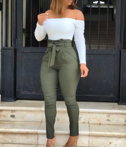 Design Army Green Pants