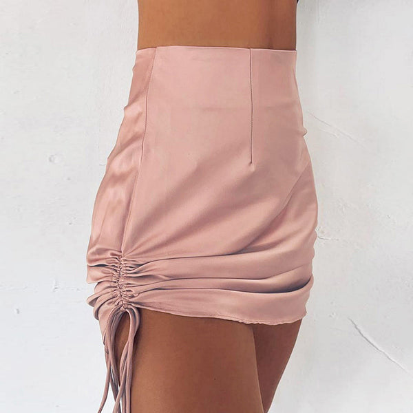 Women'S High Waist Bag Hip Slim Skirt