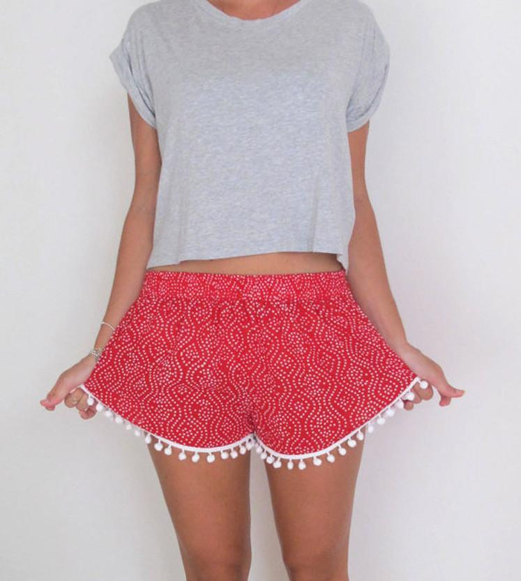 Fashion Printed Shorts