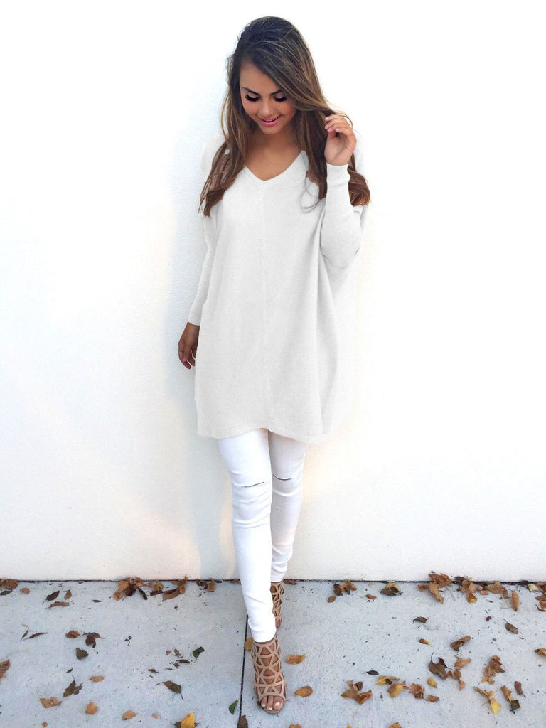Knit Tops Winter Casual Sweater Bottoming Shirt