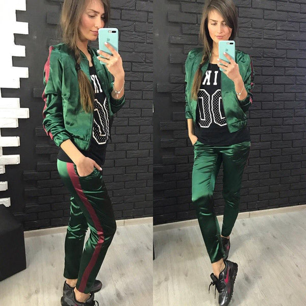 Women'S Leisure Sports Two-Piece Pants