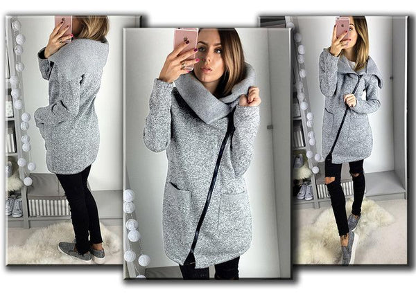 Zippers Winter Fashion Tops Jacket