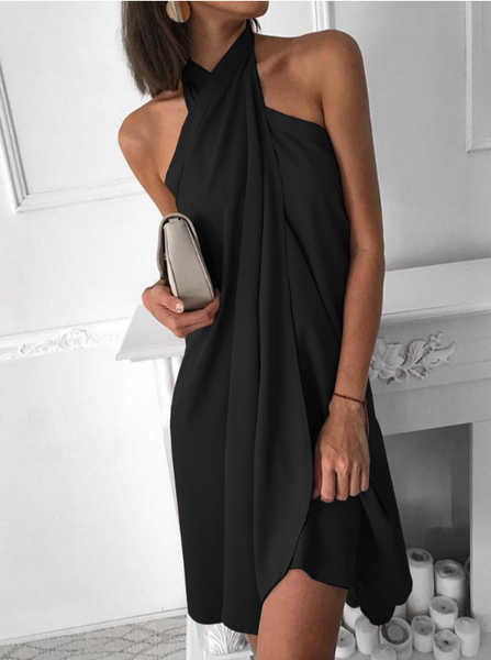 Irregular Sexy Women'S Loose Dress