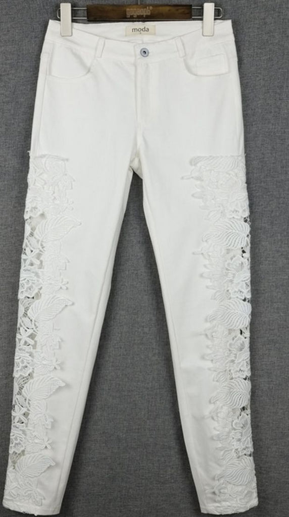 CUTE LACE PANTS