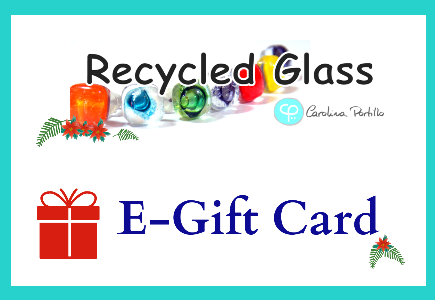 Recycled Glass E-Gift Card
