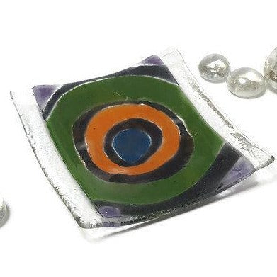 Bead holder Small Tray. Mini Ring Holder. Small jewelry Dish for decoration.