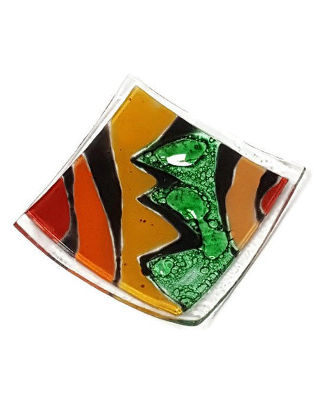 Fun Small Tray. Mini Ring Holder. Fun Small jewelry Dish for decoration. Multi color dish.