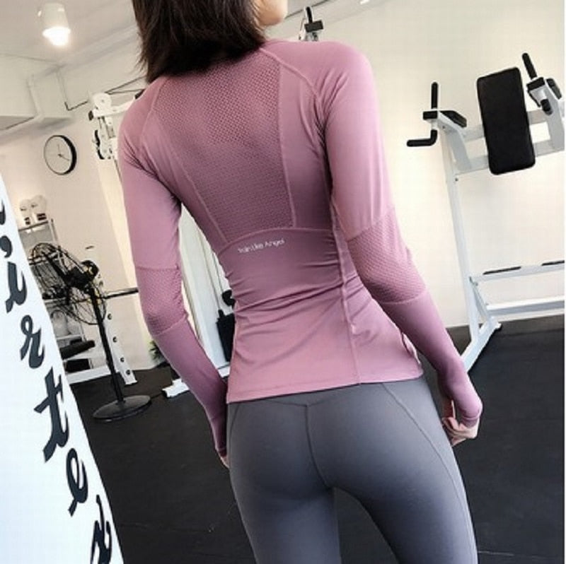 Mesh Yoga Tops - 93nine.com