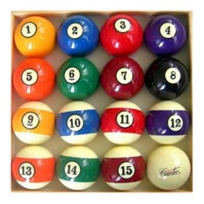 Official Billiard Ball Set by CueTec - Best Game Tables