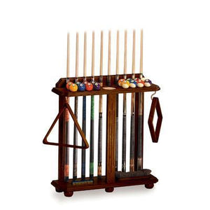 Floor Pool Cue Rack by The Level Best - Best Game Tables