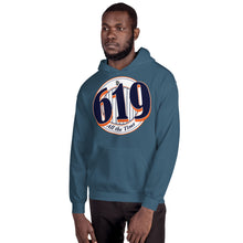 Load image into Gallery viewer, 619 Pinstripe Unisex Hoodie