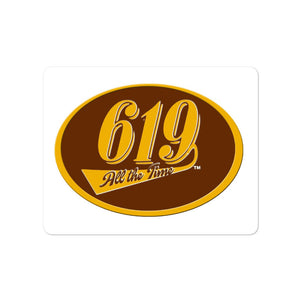 619 All The Time Bubble-free stickers