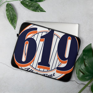619 Pinstripes Laptop Sleeve