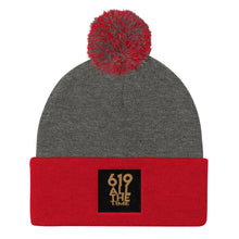 Load image into Gallery viewer, 619 All The Time Pom Pom Knit Cap