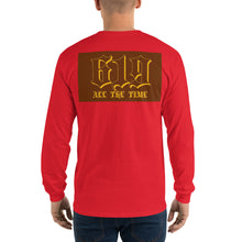 Load image into Gallery viewer, Long Sleeve T-Shirt w/ back design