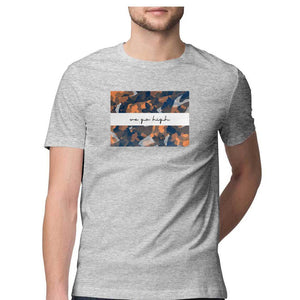 Suprcrowd Light Camo Half Sleeve T-Shirts for Men - SuprCrowd