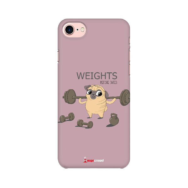 Weights Before Dates Funny Mobile Phone covers -SuprCrowd - SuprCrowd