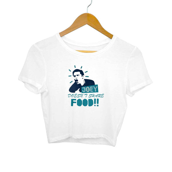 Joey doesn't share food! Crop Top for Women from SuprCrowd - SuprCrowd