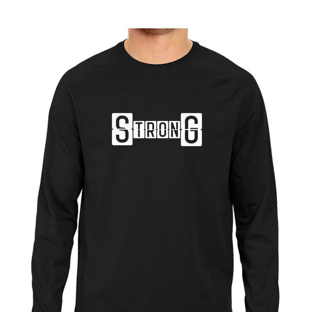 Strong full sleeve Gym T-shirts for Men by SuprCrowd - SuprCrowd