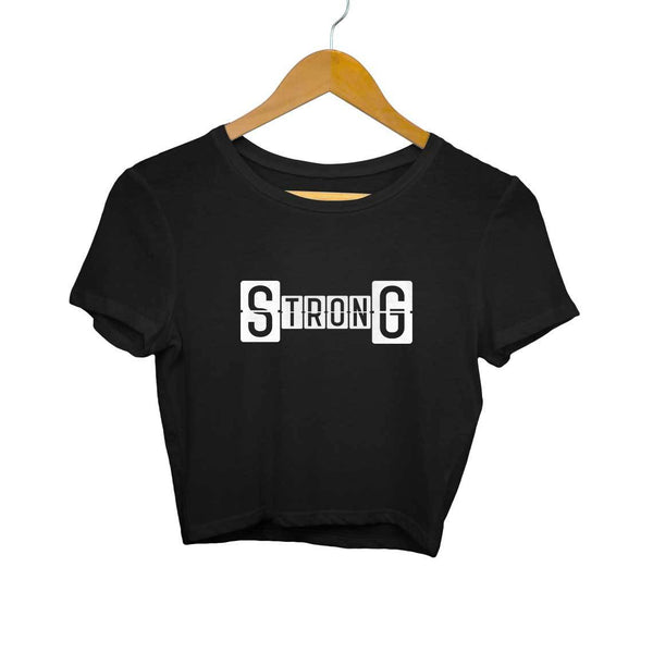 Strong Gym Crop top for Women from SuprCrowd - SuprCrowd