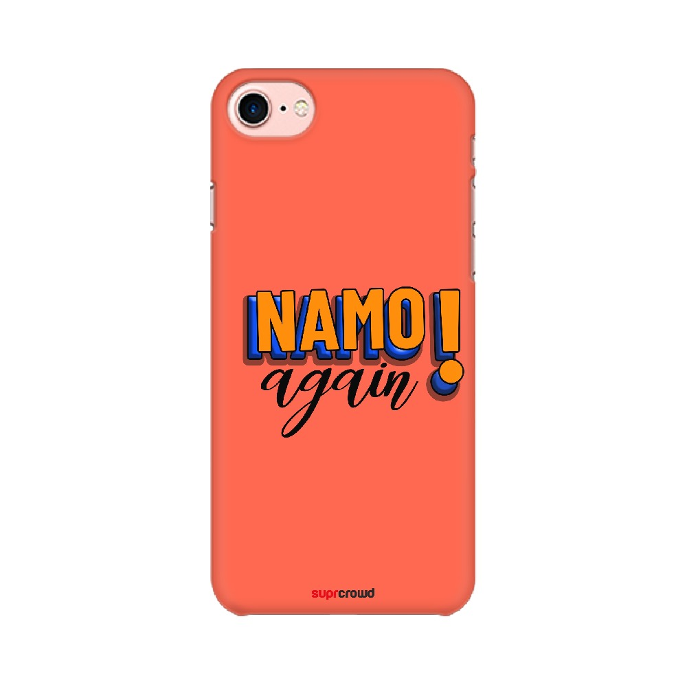 Namo Again Red colour Mobile Phone covers-1 - SuprCrowd