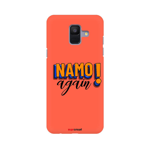 Namo Again Red colour Mobile Phone covers-2 - SuprCrowd