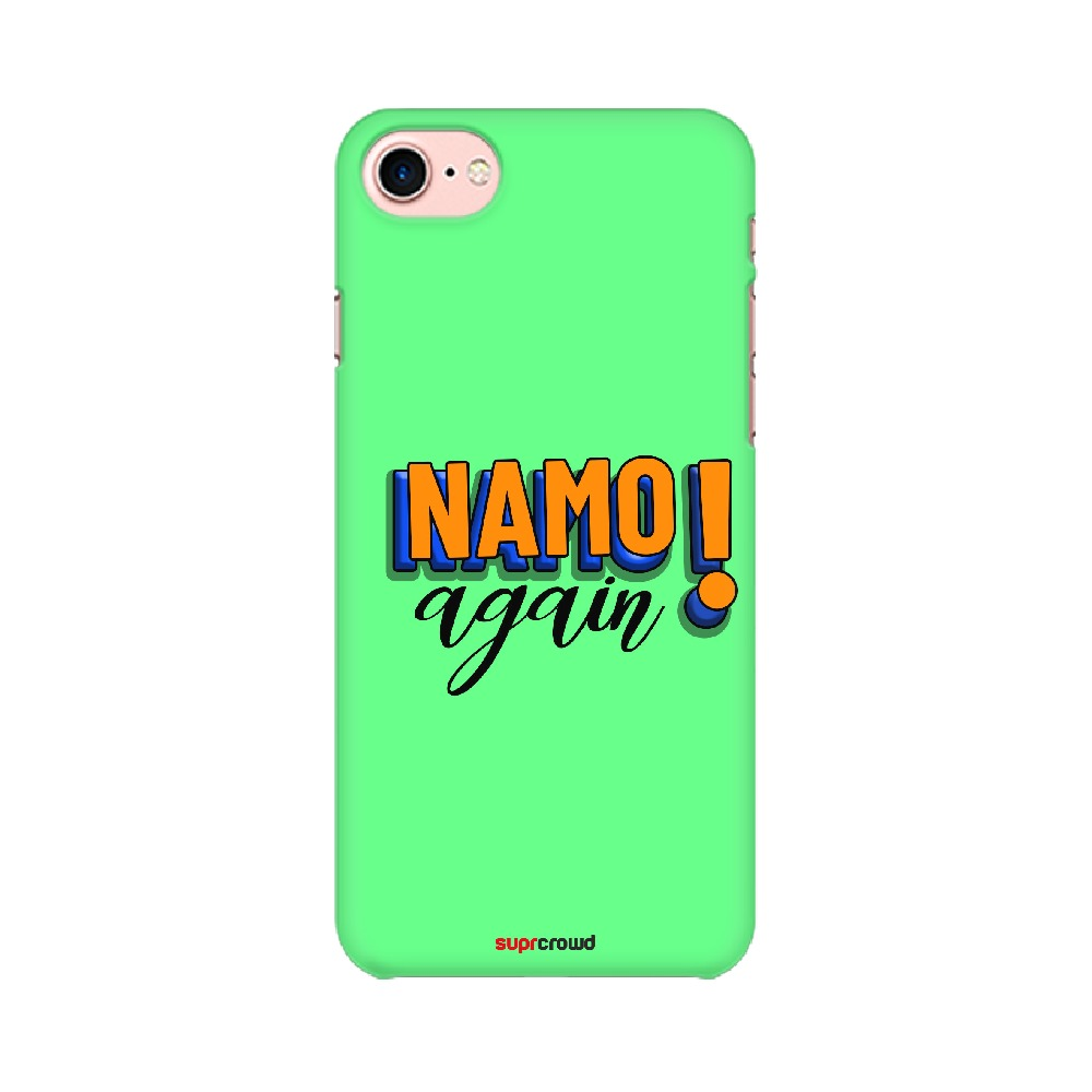 Namo Again Green colour Mobile Phone covers-1 - SuprCrowd