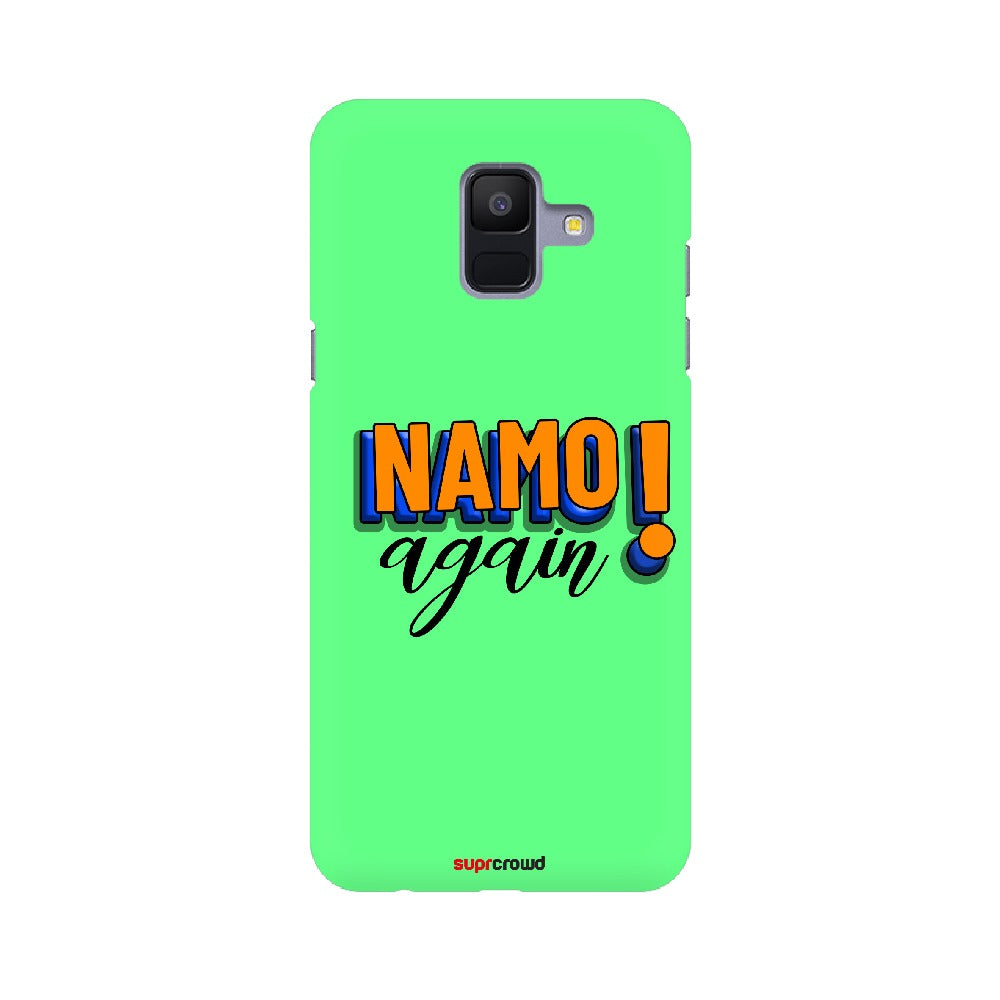 Namo Again Green colour Mobile Phone covers-2 - SuprCrowd