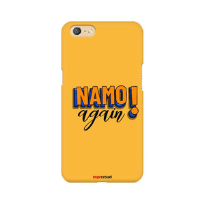 Namo Again Yellow colour Mobile Phone covers-1 - SuprCrowd