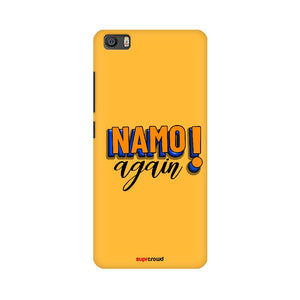 Namo Again Yellow colour Mobile Phone covers-2 - SuprCrowd