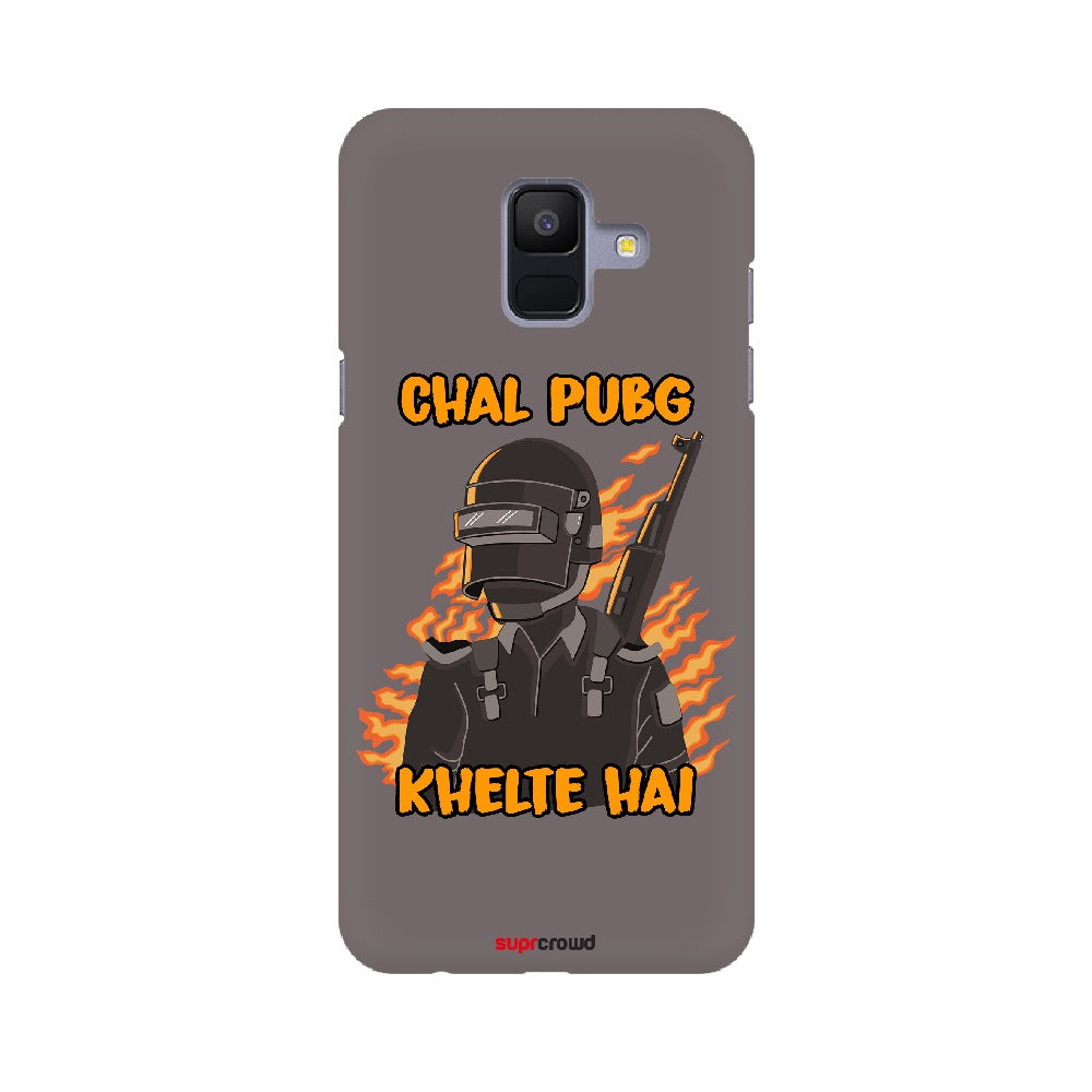 CHAL PUBG KHELTE HE, Grey Mobile phone covers -SuprCrowd (Part-2) - SuprCrowd