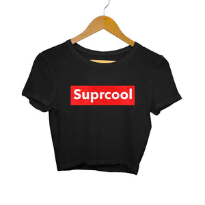 Suprcool Crop top for Women from SuprCrowd - SuprCrowd