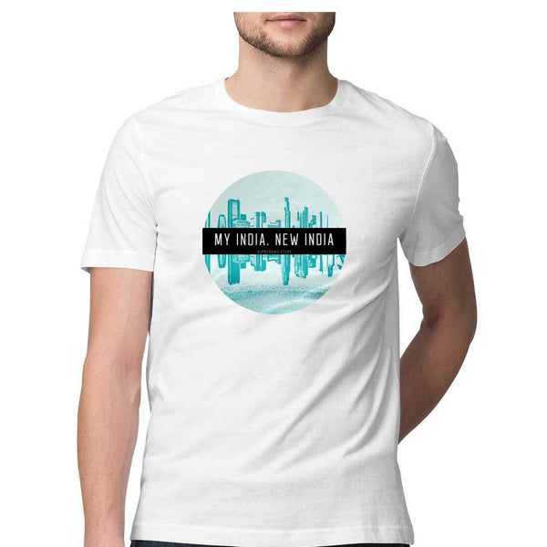 MY INDIA. NEW INDIA  Unisex T-shirts - SuprCrowd