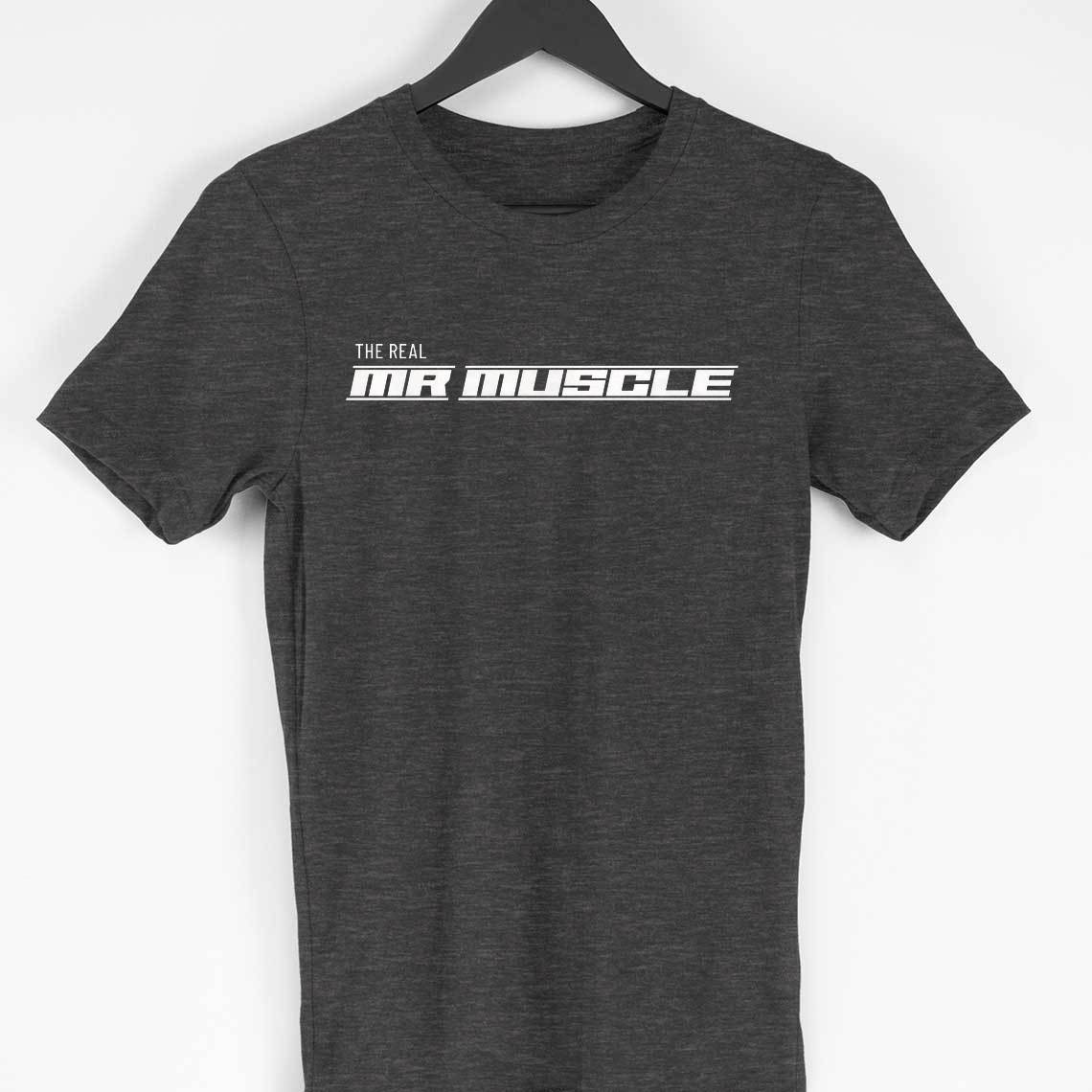 The Real Mr. Muscle Gym T-shirts for Men - SuprCrowd