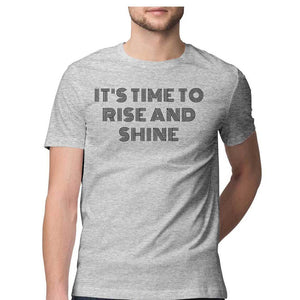 RISE AND SHINE Men's T-SHIRT - SuprCrowd