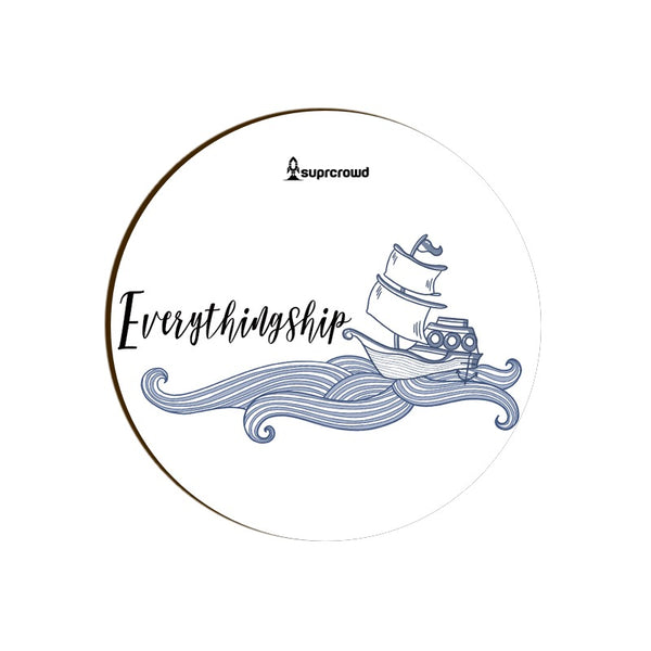 Everything Ship coasters from SuprCrowd - SuprCrowd