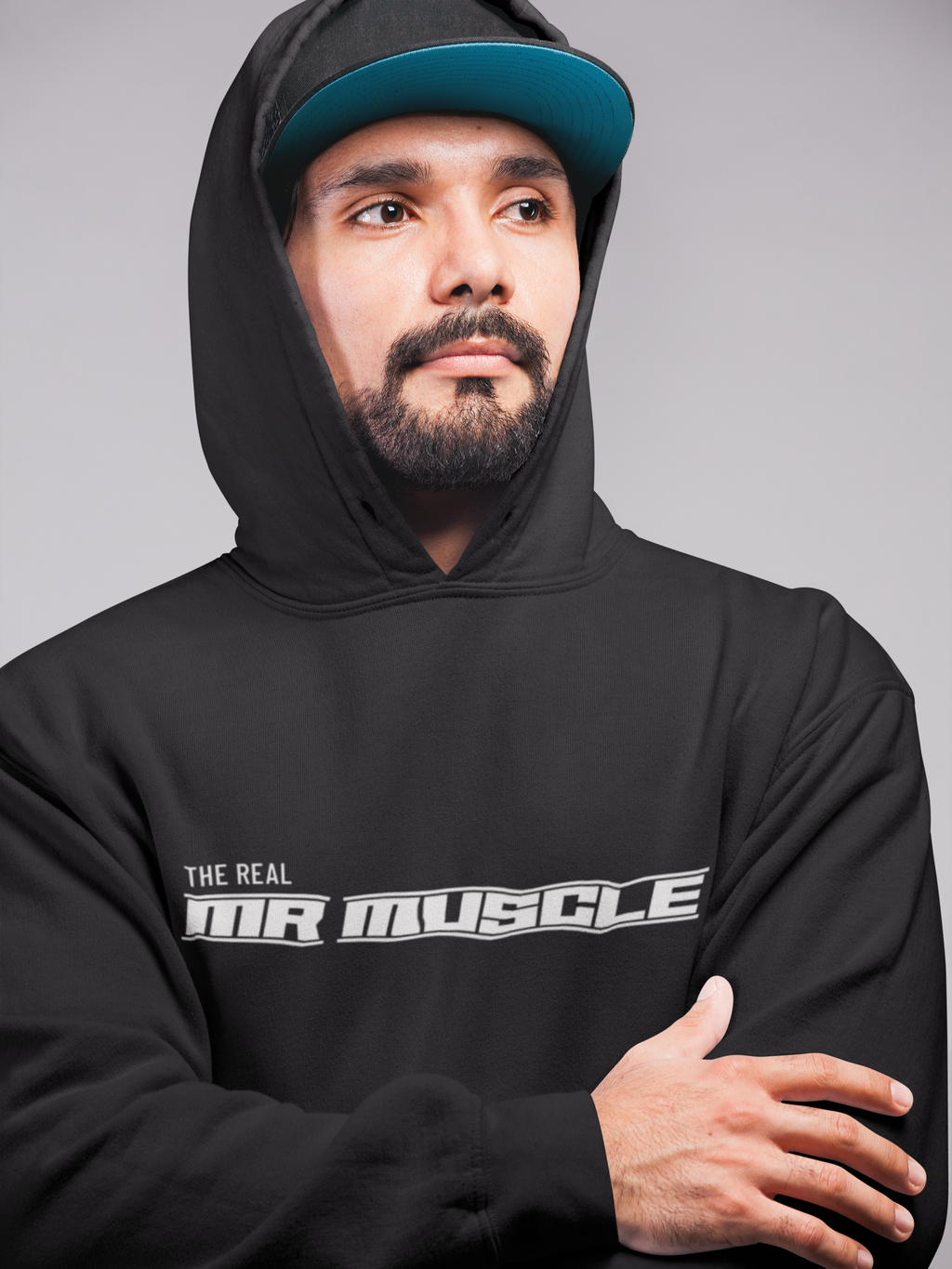 The Real Mr Muscle Hoodies for Men - SuprCrowd